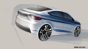 Tata Tigor (Tata Tiago-based sedan) 'Styleback' teased