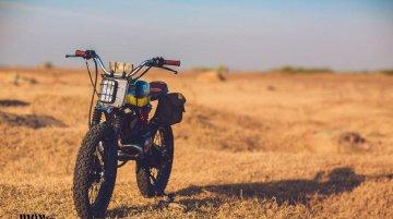 Custom Yamaha RX100 'Baby Blue' by Ironic Engineering