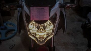 2017 Yamaha V-Ixion busted ahead of unveil - Indonesia