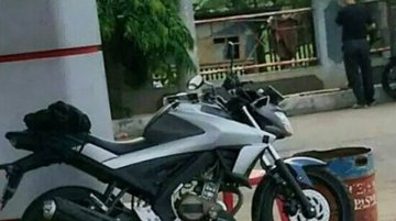 2017 Yamaha V-Ixion spotted in Indonesia sans camouflage