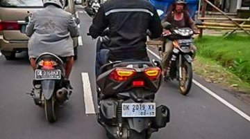 Yamaha X-Max 250 spied in Indonesia
