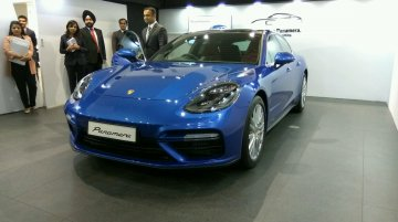 2017 Porsche Panamera Turbo (2nd gen) launched in India at INR 1.93 crores
