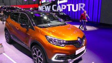 2017 Renault Captur (facelift) - Geneva Motor Show Live