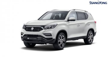 2017 Ssangyong Rexton (Mahindra XUV700) unveiled ahead of Seoul debut