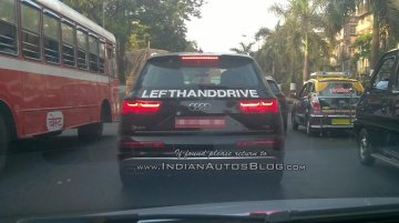 435 hp Audi SQ7 TDI spotted testing in India