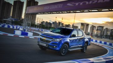 2017 Chevrolet Colorado High Country STORM unveiled
