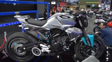Honda 150SS Racer concept showcased at the BIMS 2017