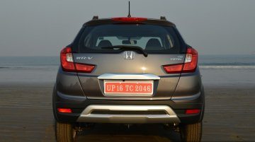 Honda WR-V registers sales of 3,833 units in its first month