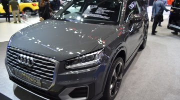 India-bound Audi Q2 showcased at the BIMS 2017