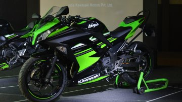 2017 Kawasaki Ninja 300 & 2017 Kawasaki Ninja 650 launched in India