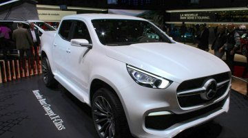 Mercedes Concept X Class pick up - Geneva Motor Show Live