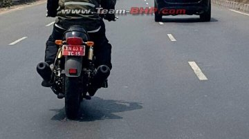 Royal Enfield Continental GT 750 cc twin-cylinder bike spied in India