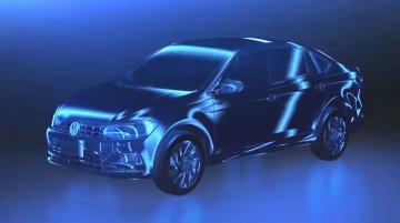 VW Virtus sedan teased, confirmed for Brazil