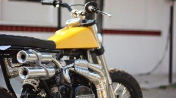 Custom Yamaha RD350 Scrambler by Moto Exotica