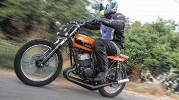 Custom Yamaha RD350 Sun chaser by JC Moto