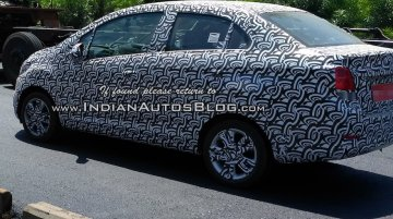 2017 Chevrolet Beat & Chevrolet Beat Essentia spied on test