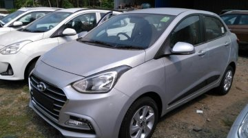 More images of the 2017 Hyundai Xcent (facelift) surface [Update]