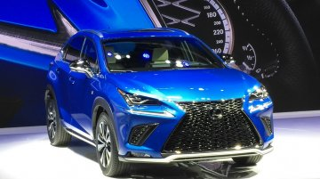 2017 Lexus NX unveiled at Auto Shanghai 2017