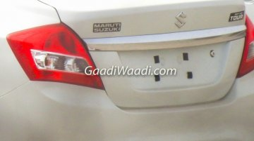 2017 Maruti Dzire Tour spotted for the first time
