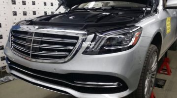 2017 Mercedes S-Class leaked ahead of its debut this month