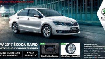 2017 Skoda Rapid to gain new features - Report
