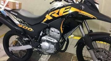 Is this the first sighting of the Honda XRE300 in India?