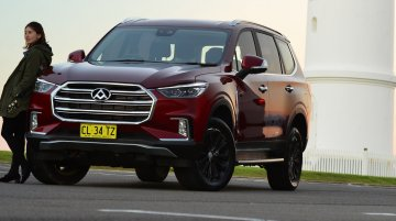 India-bound SAIC's Toyota Fortuner rival lands in Australia