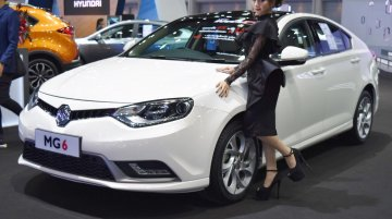 India-bound MG Motor showcases the MG6 Fastback at BIMS 2017