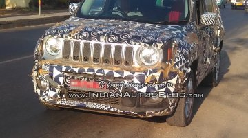 India-bound 2019 Jeep Renegade speculated to receive new infotainment - Report
