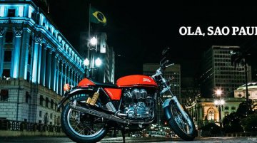 Royal Enfield launches in Brazil - In Images