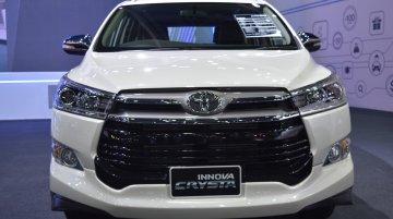 Toyota Innova Crysta - Image Gallery