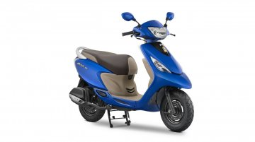 2017 TVS Scooty Zest 110 gains new colours & features