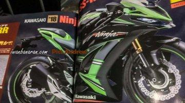 2018 Kawasaki Ninja 250 rendering shows a sporty side profile