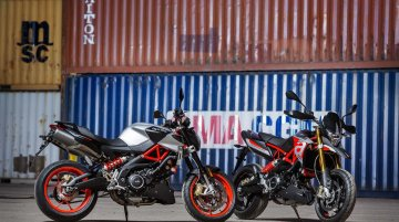 Aprilia Shiver 900 and Aprilia Dorsoduro 900 heading to India - Report