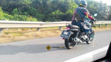 Bajaj V15 spotted in Malaysia, could be the 3rd launch on May 19