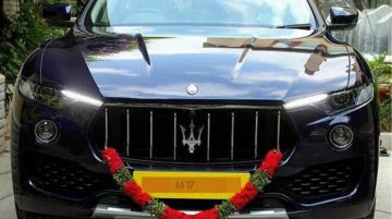 First Maserati Levante for Indian market spotted in Bengaluru