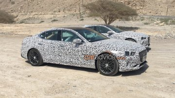 Genesis G70 (BMW 3 Series rival) spied testing in the Middle East