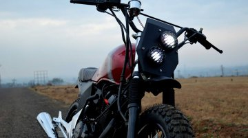 Honda Unicorn 150 Scrambler by Furious Customs