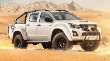 Isuzu D-Max AT35 launched in UAE