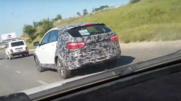 Lada Vesta Cross spied up close in Kazakhstan [Video]