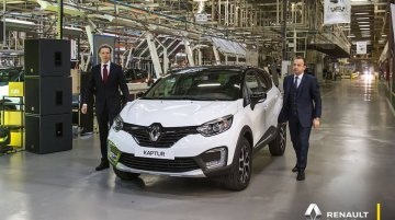 India-bound Renault Kaptur completes 1 year on the Russian market