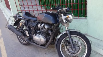 """Upcoming Royal Enfield (Continental GT 750) is """"highway worthy"""" says Siddhartha Lal"""