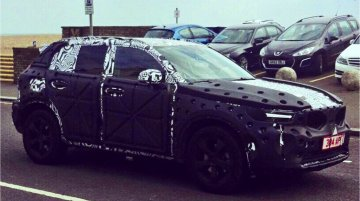 Volvo XC40 spied testing in the UK