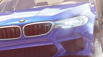 2017 BMW M5 teased in NFS Payback video game