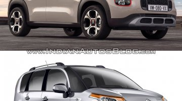 Citroen C3 Aircross vs. Citroen C3 Picasso - Old vs. New