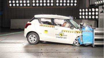 Euro NCAP gives 2017 Suzuki Swift basic variant 3/5 in crash test [Video]