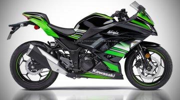 2018 Kawasaki Ninja 250 - IAB Rendering