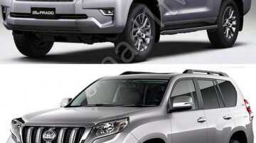2018 Toyota Land Cruiser Prado completely leaked in new high res photos