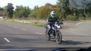 IAB reader spots the Bajaj Pulsar NS160 in India with no camouflage