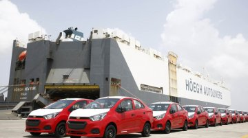 GM India commences Chevrolet Beat Essentia exports